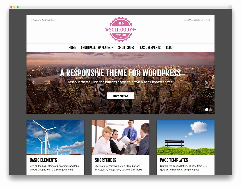 30 Free Responsive Graphy Wordpress themes 2017