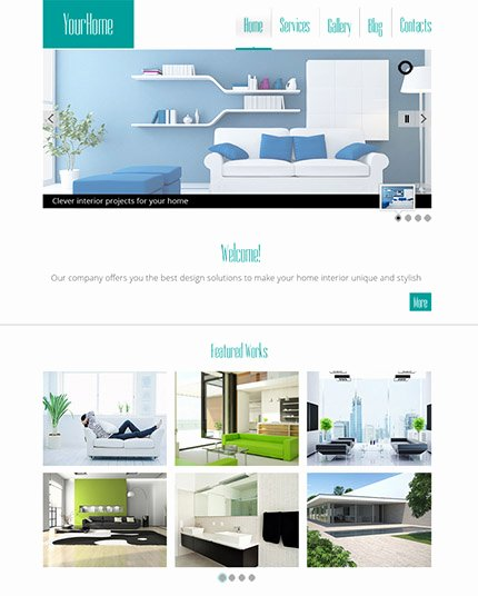 30 Free Stunning Website Templates