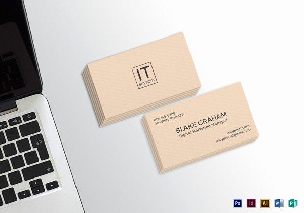 30 Minimalistic Business Card Designs Psd Templates