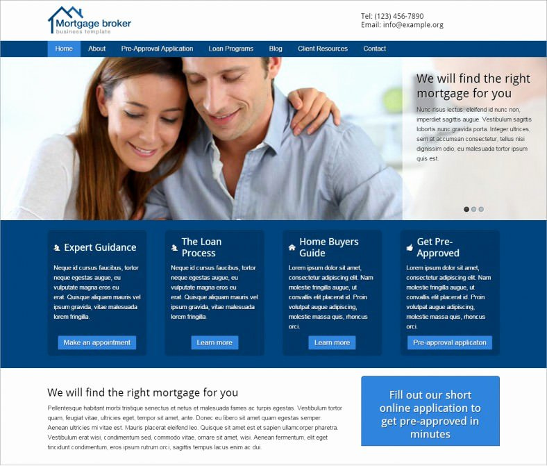 30 Mortgage Wordpress themes & Templates