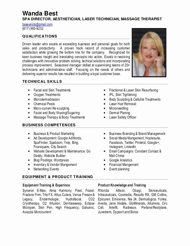 30 New Excellent Resume Examples