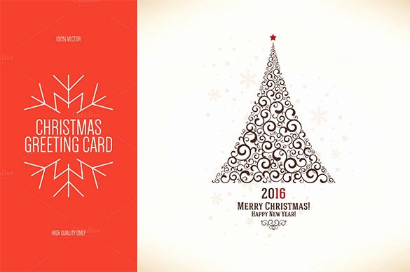 30 New Year Greeting Card Templates Free Psd Eps Ai