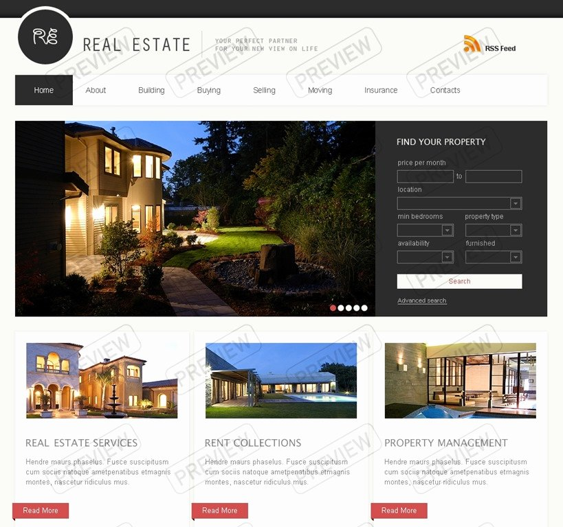 30 Powerful Real Estate Website Templates Want to Stand