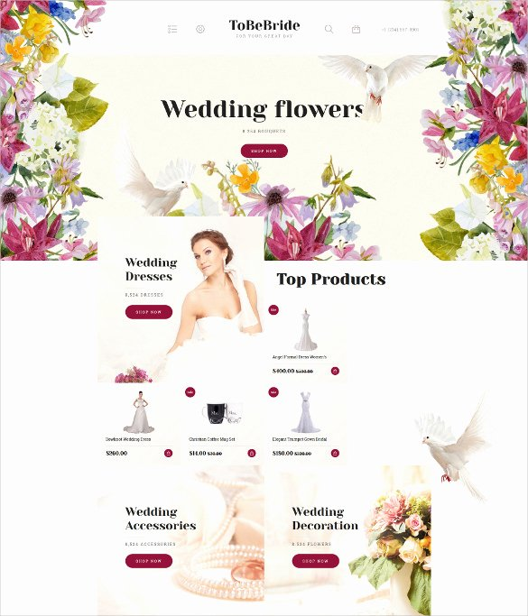 30 Wedding Website themes & Templates