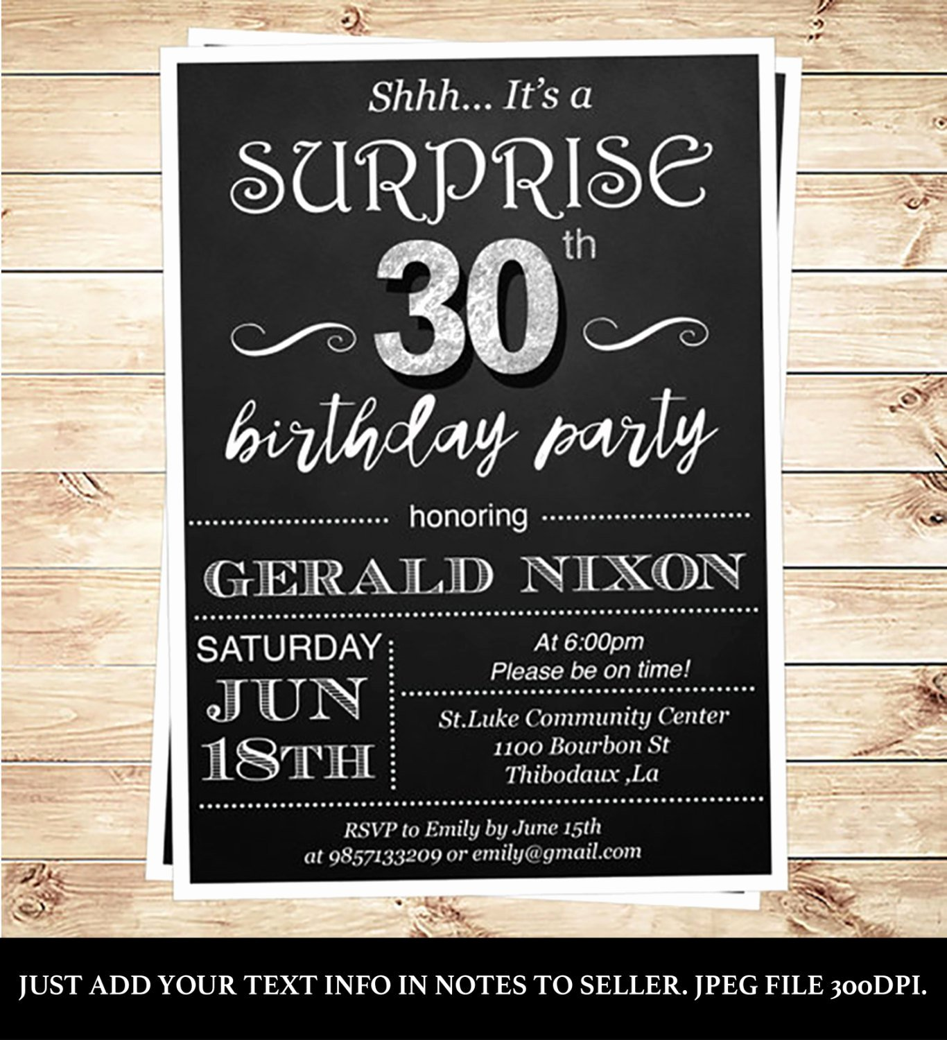 30th Birthday Invitations 30th Birthday Invitations