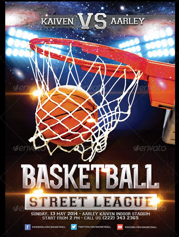 31 Basketball Flyers Psd Ai Vector Eps