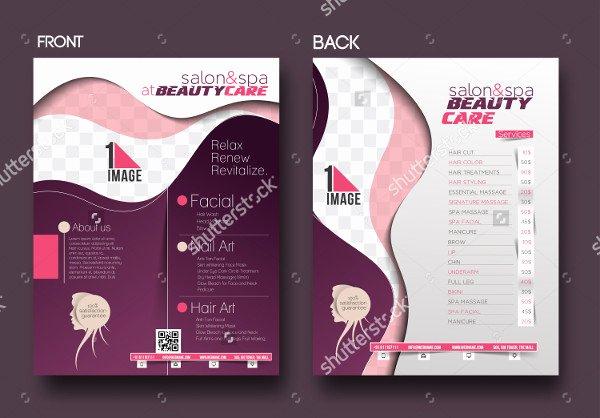 31 Beauty Salon Flyer Templates Free & Premium Download