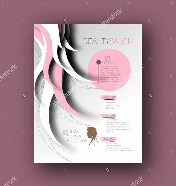 31 Beauty Salon Flyer Templates Free & Premium Download