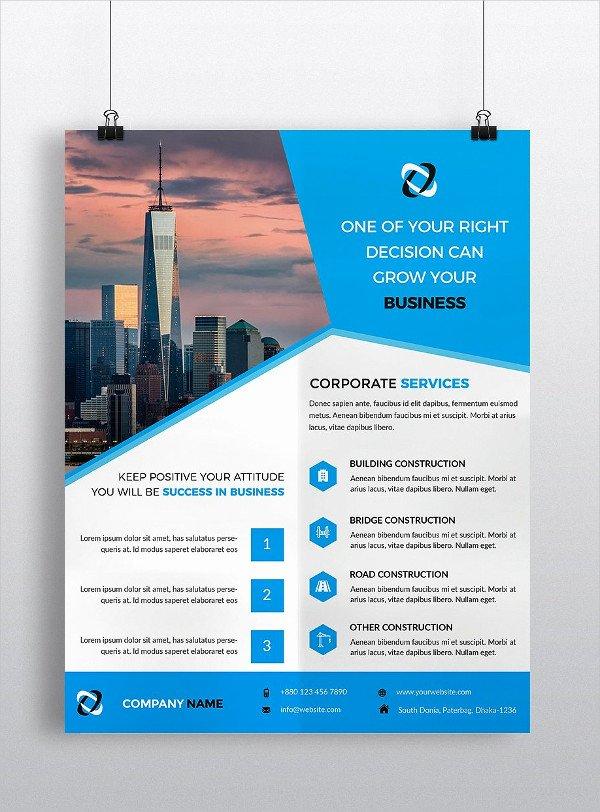 31 Construction Flyer Templates Free & Premium Download