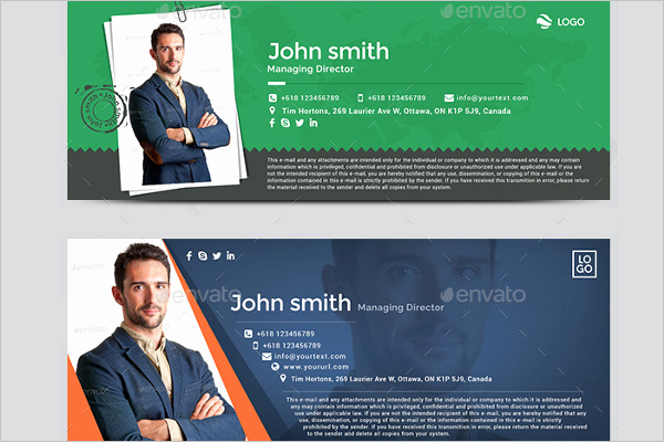 31 Email Signature Templates Free & Premium