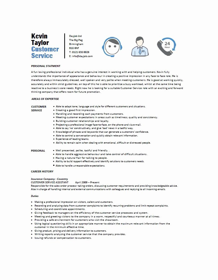 31 Free Customer Service Resume Examples Free Template