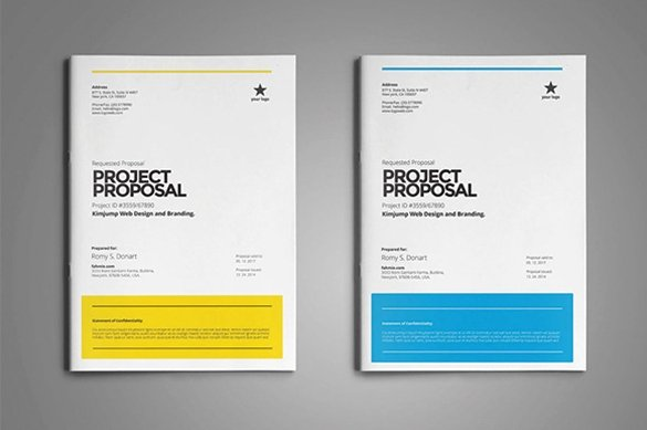31 Free Proposal Templates Word