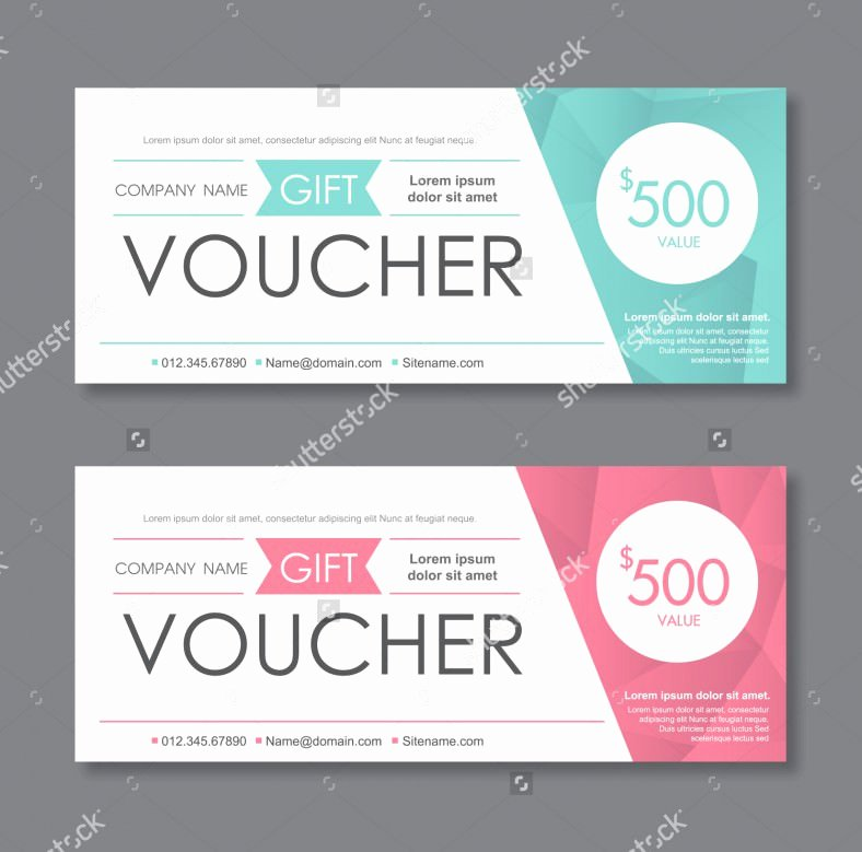 31 Gift Voucher Templates Free Psd Epd format Download