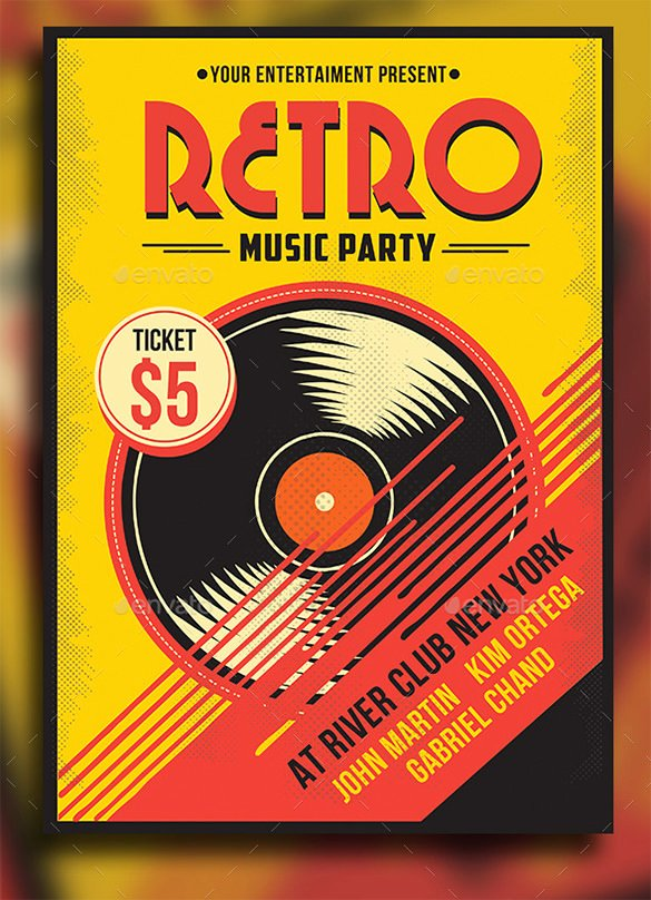 31 Music Flyer Templates – Free Psd Eps Ai Indesign