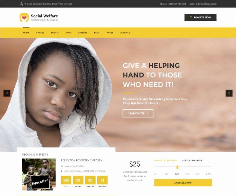 31 Non Profit Website themes & Templates