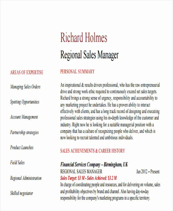 31 Professional Manager Resume Samples