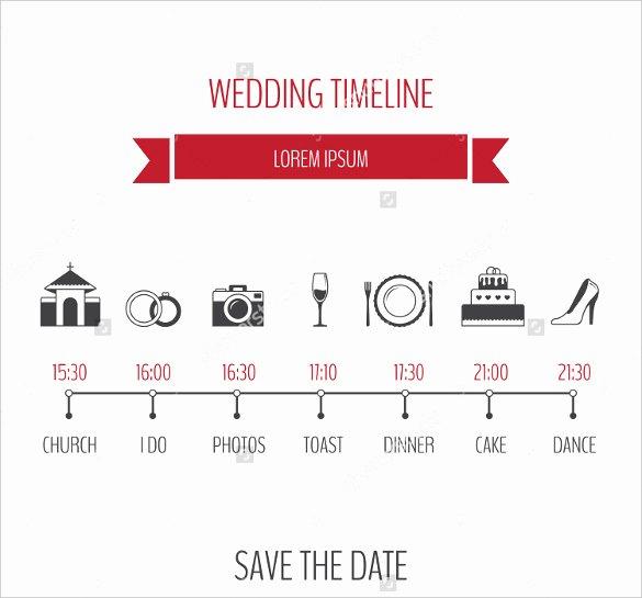 31 Wedding Timeline Templates Psd Ai Eps Pdf Word