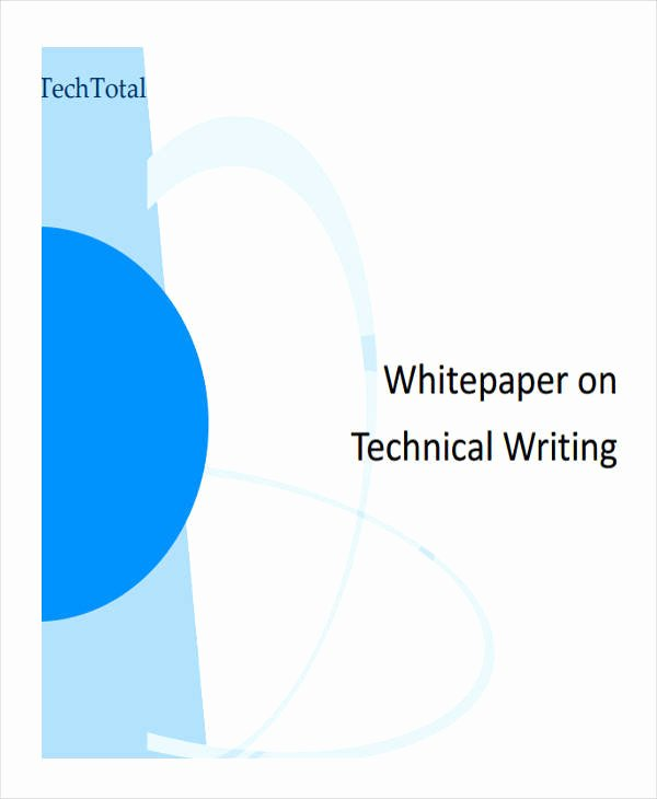 31 White Paper formats