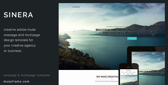 32 Best Adobe Muse Graphy Portfolio Templates
