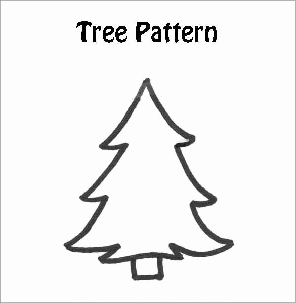 32 Christmas Tree Templates Free Printable Psd Eps