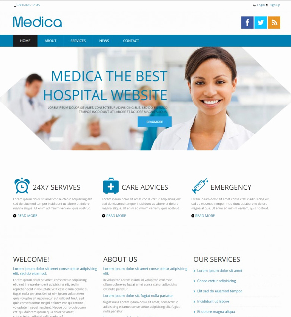 32 Medical Website themes & Templates