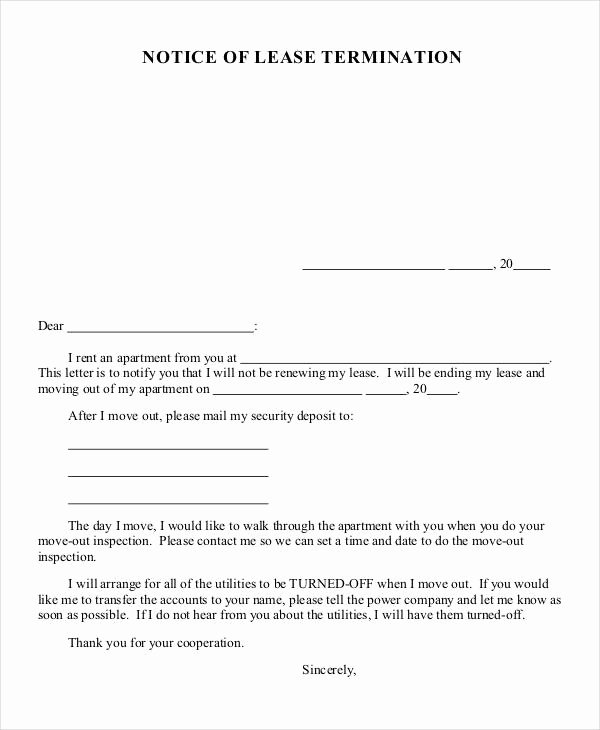 32 Simple Termination Letter Templates Doc Pdf Ai