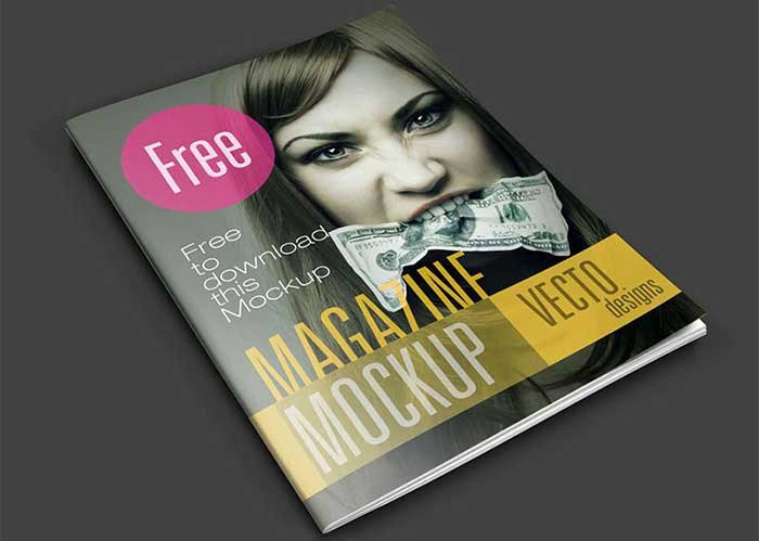 33 Best Free Magazine Mockup Templates In Psd to Download