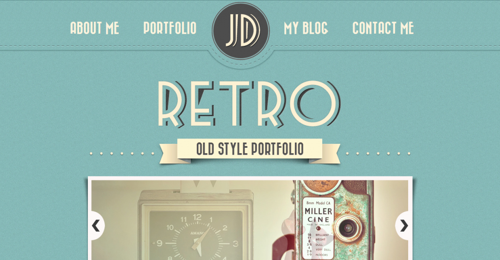 33 Best Vintage Retro HTML Templates