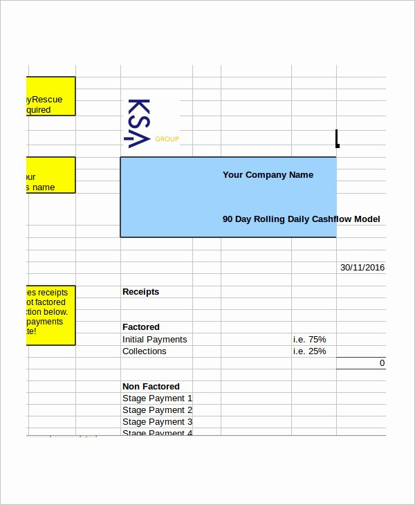 33 Cash Flow Statement Templates Free Excel Pdf Examples