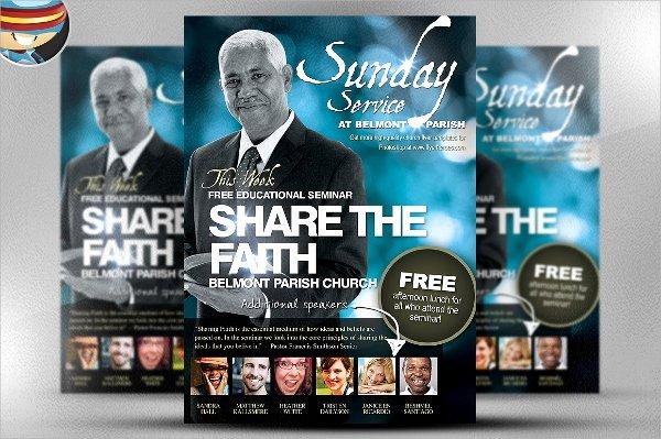 33 Church Flyer Templates