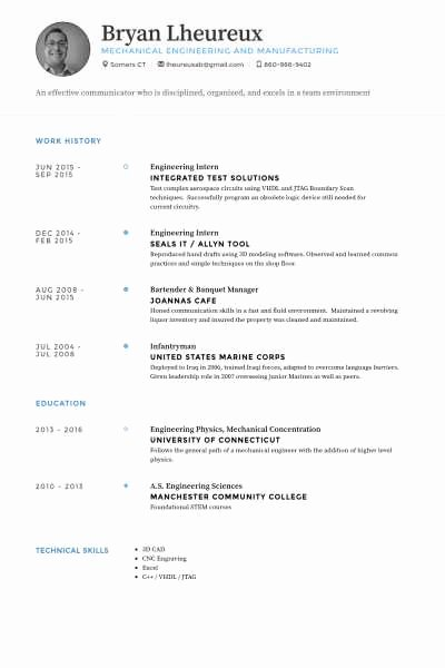 33 Fresh Sample Resume for Fresher Puter Science