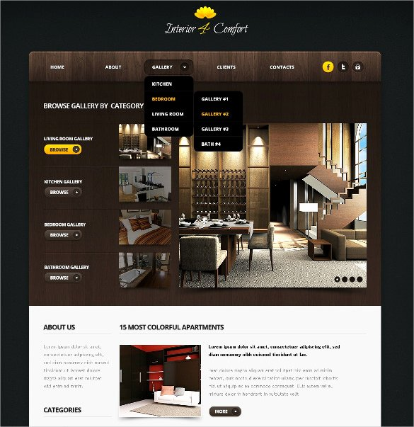 33 Jquery HTML5 Website themes & Templates