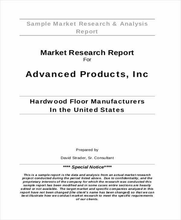 33 Market Analysis Templates