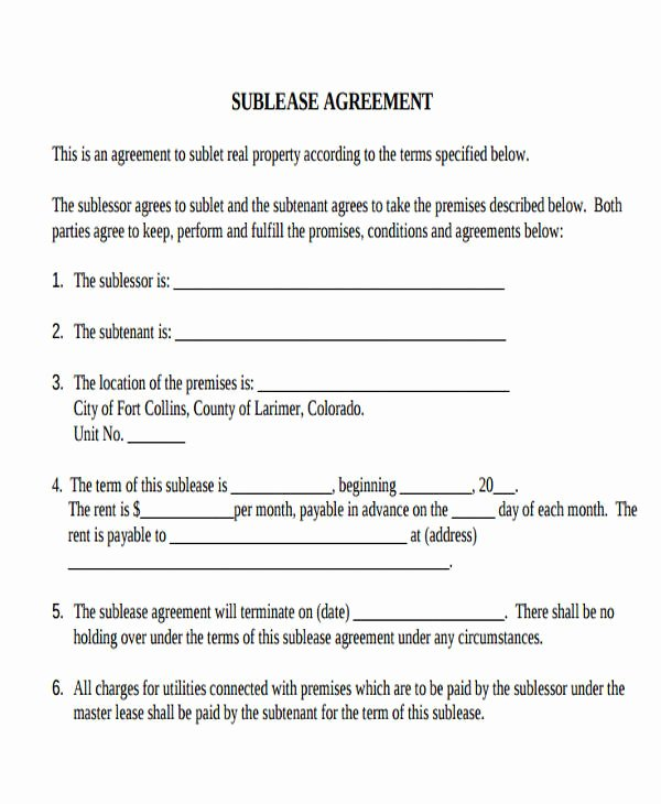 33 Mercial Lease Agreement Samples