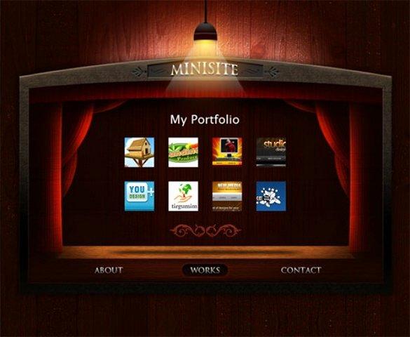 33 Portfolio Psd themes & Templates