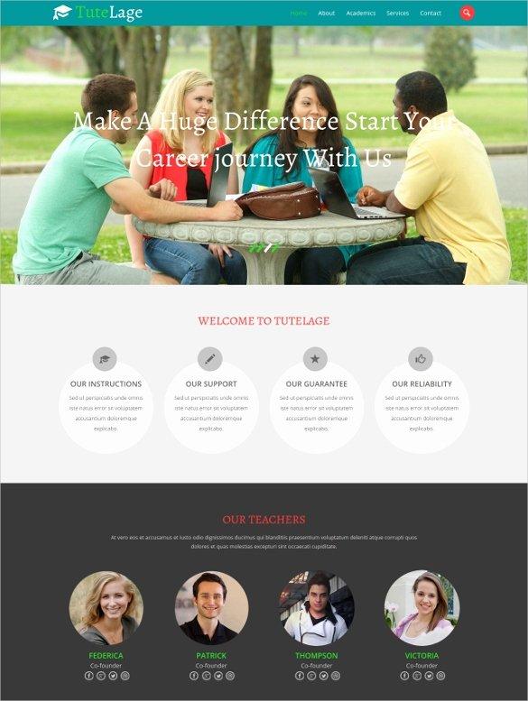 33 School Website themes & Templates