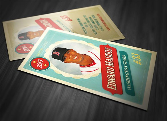 33 Trading Card Template Word Pdf Psd Eps