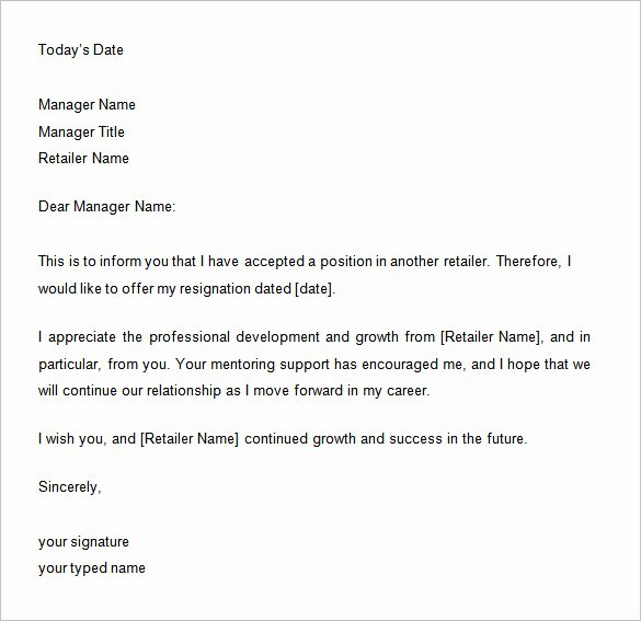 33 Two Weeks Notice Letter Templates Pdf Doc