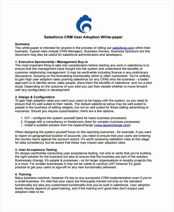 33 White Paper Templates In Pdf