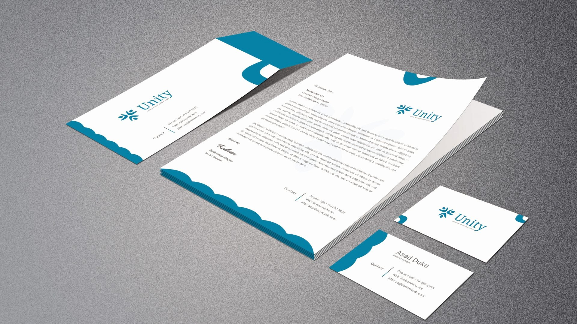 34 Beautiful Business Card Template Illustrator