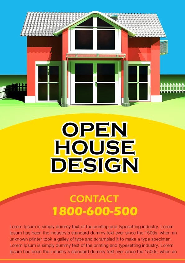 34 Best Images About Open House Flyer Ideas On Pinterest