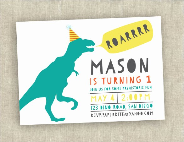 34 First Birthday Invitation Templates – Word Psd