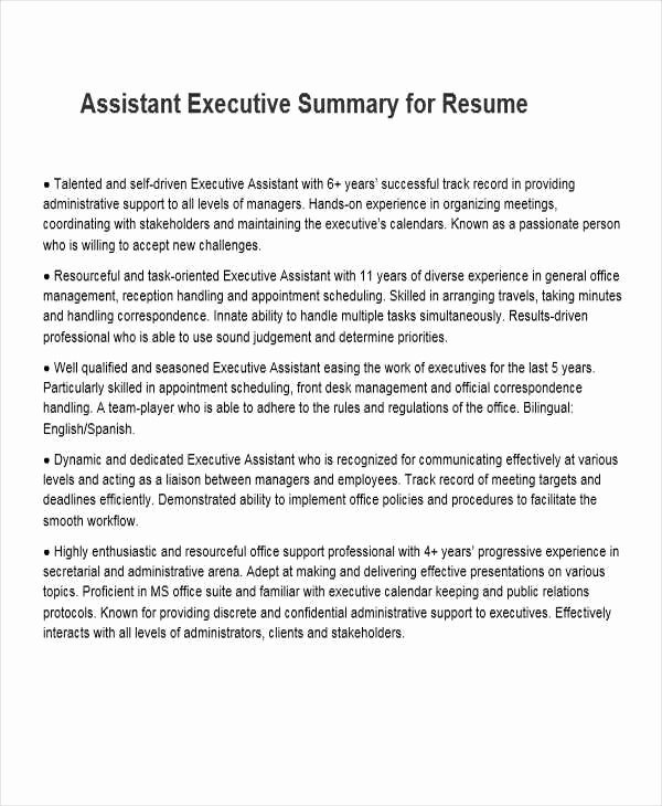 34 Free Executive Resumes
