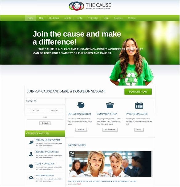 34 Non Profit Website themes & Templates