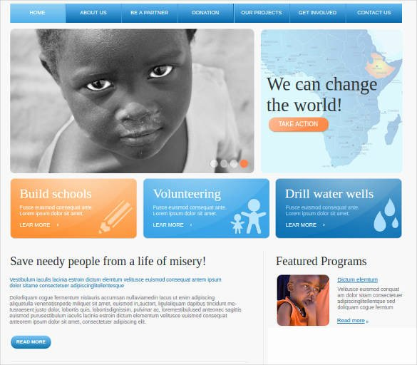 34 Non Profit Website themes & Templates