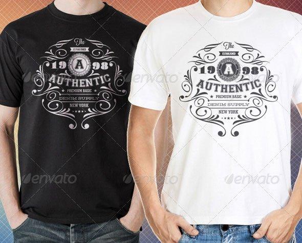 34 Print Ready Psd T Shirt Templates