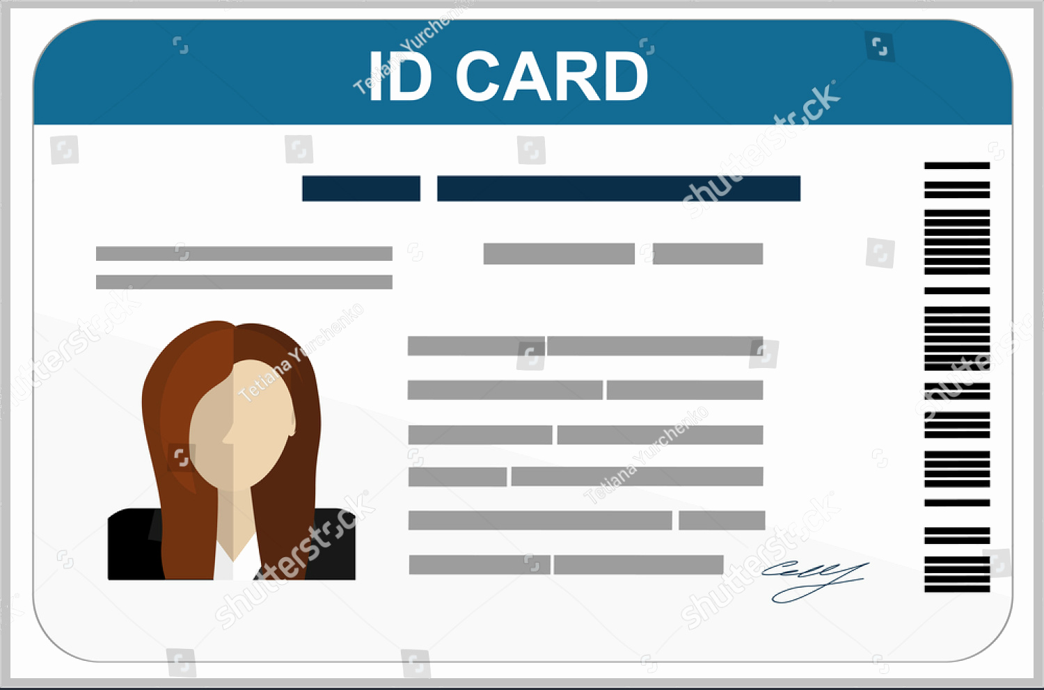 34 Professional Id Card Designs Psd Eps format