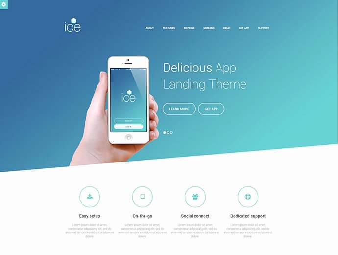 34 Responsive Landing Page Templates that Convert