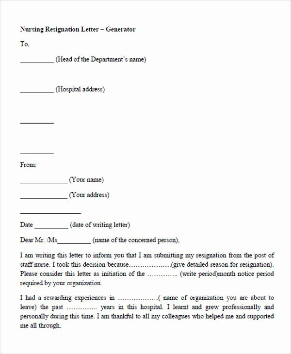 34 Sample Resignation Letter Templates