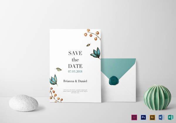 34 Wedding Invitation Design Templates Psd Ai